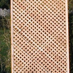 900 x 183 (6x3)larch diamond screen trellis