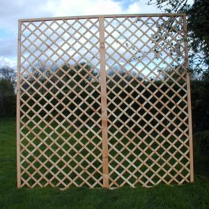 Larch Imperial trellis 1.5 x 1.83