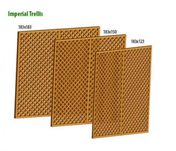 Larch Imperial trellis 1.5 x 1.83