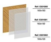 Larch diamond screen trellis 1.5 x 1.83