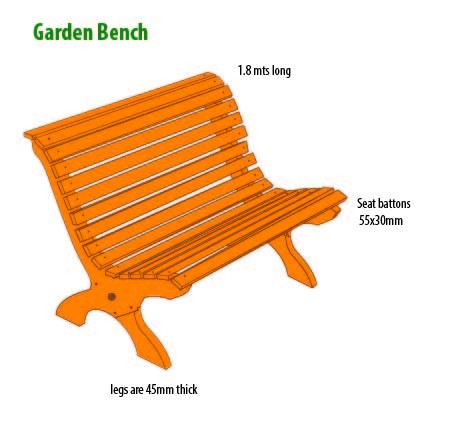 Larch Classic Bench