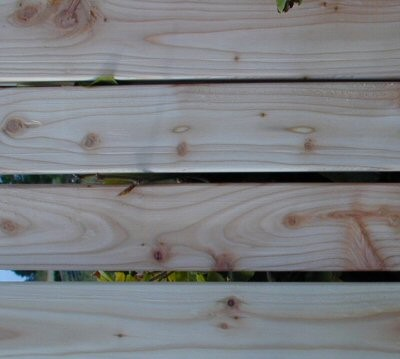 Larch Garden Seat Rail 65 x 20 mm x 1.5 meter long