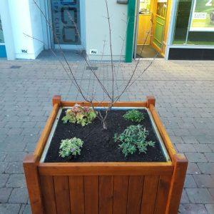 Commercial  planter boxes
